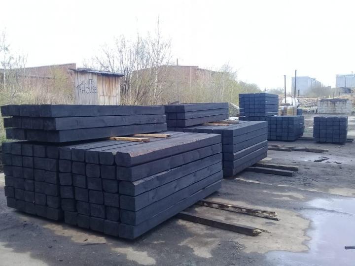 Шпала деревянная пропитанная (тип I.II)